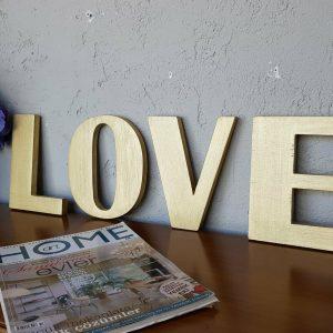 LOVE Accesoriu decorativ de perete,