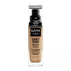 Fond de ten NYX Professional  Can`t Stop Won`t Stop Beige